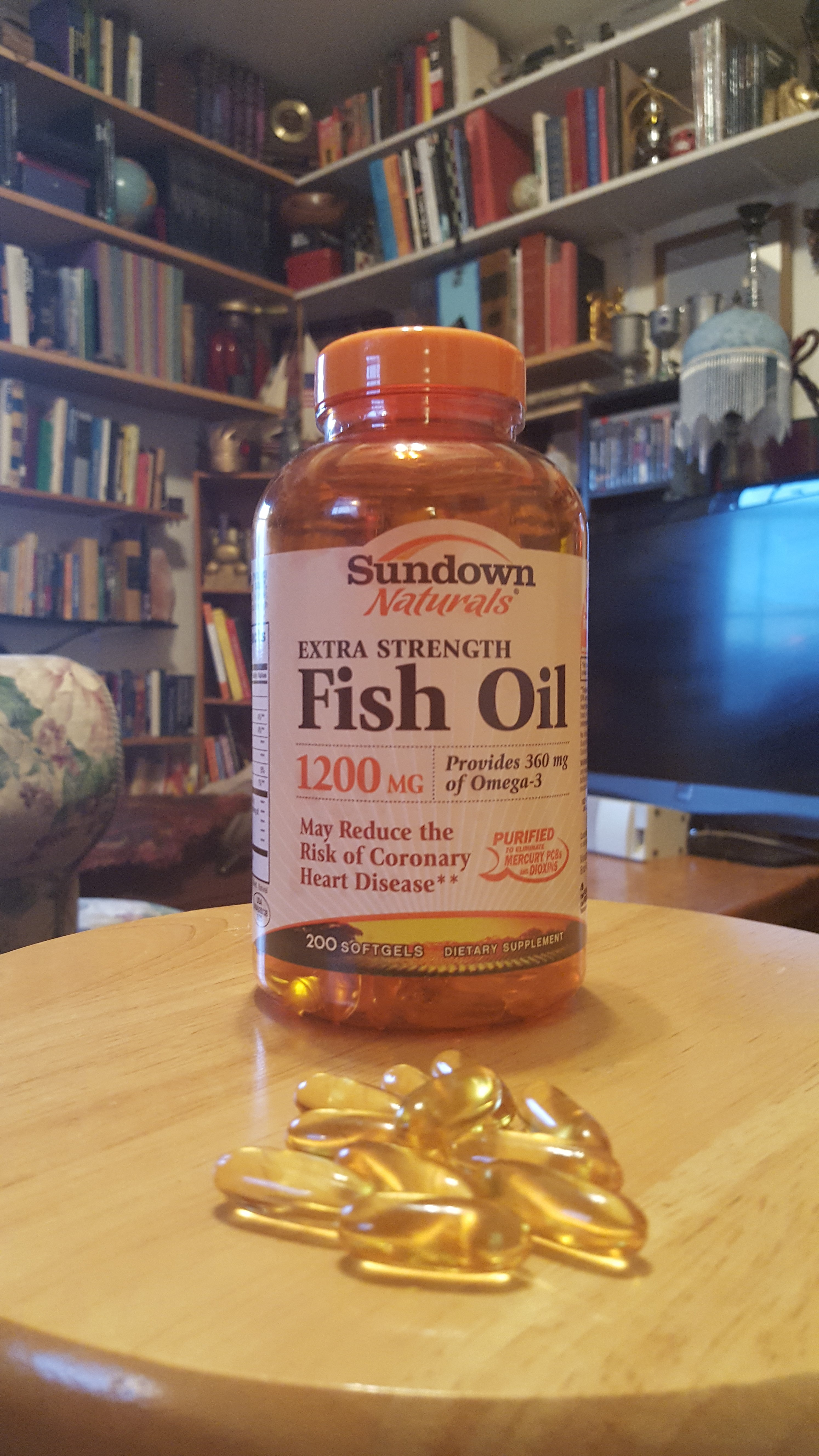 fish oil sundown Treat psoriasis