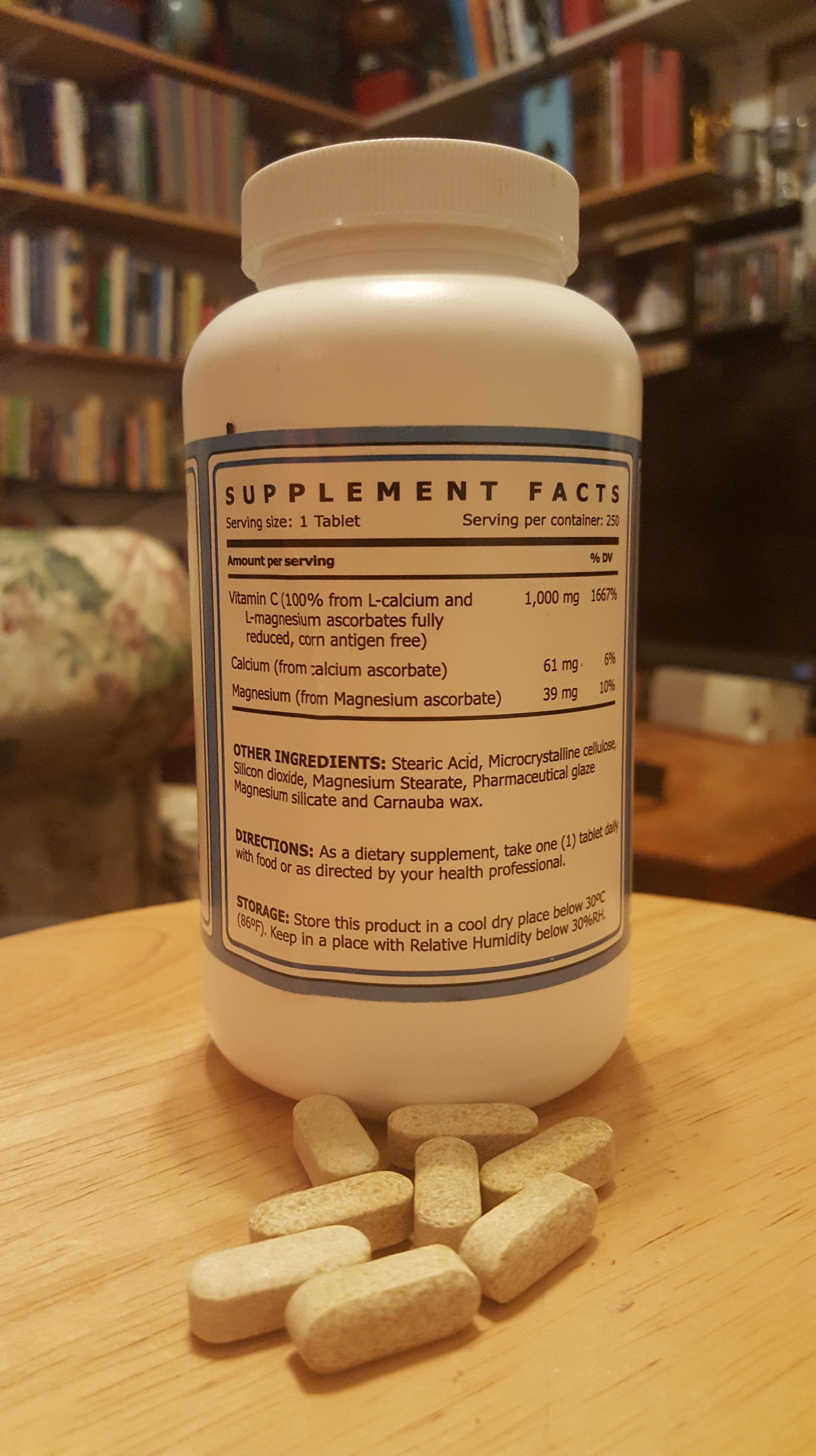 vitimen c reduces inflammation