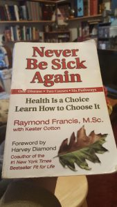Never be sick again book cover cure psoriasis