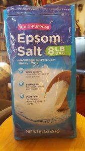Epsom salt cures psoriasis