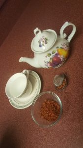 yellow saffron tea treats psoriasis