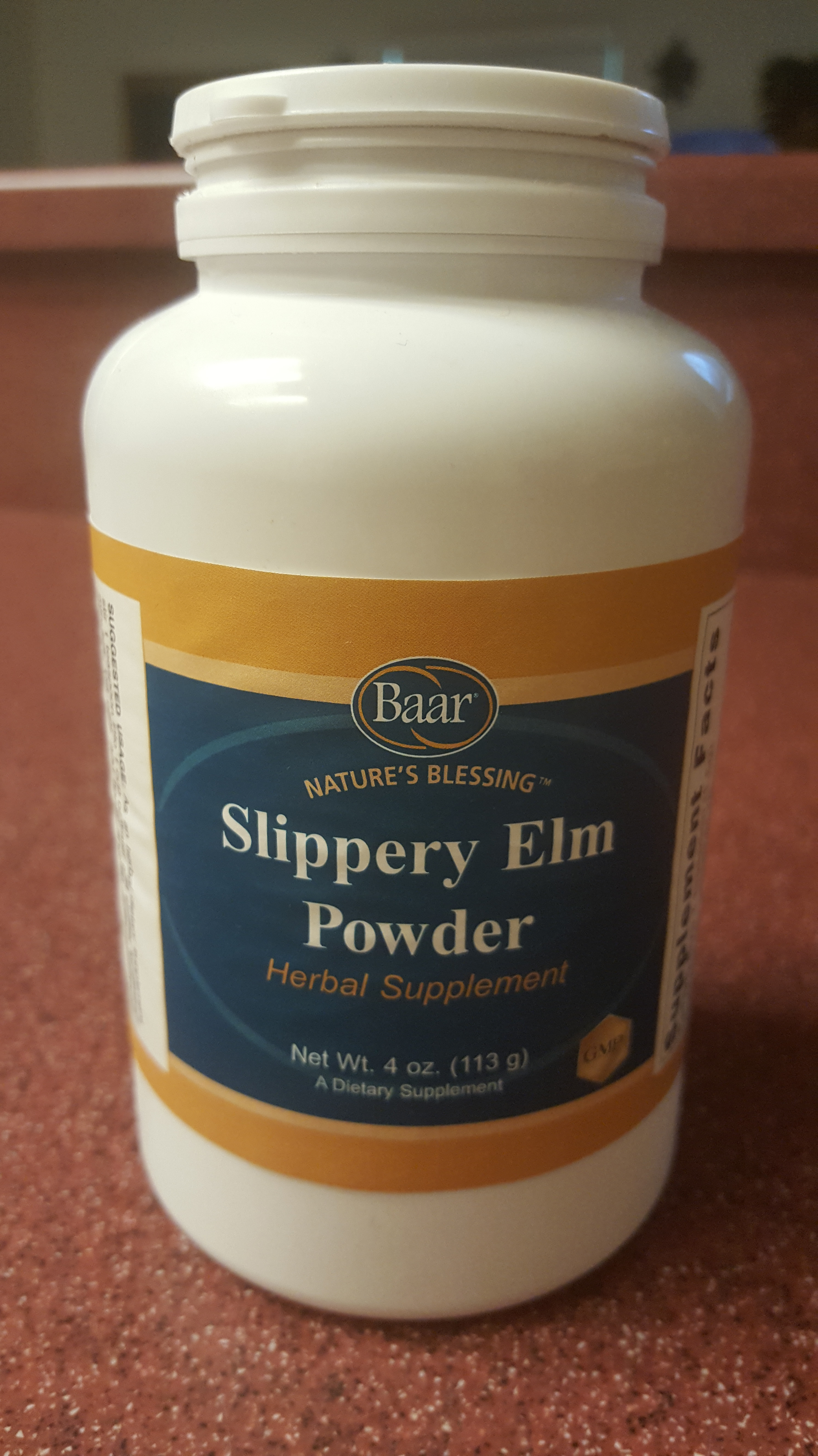 Slipery Elm Bark powder heals psoriasis