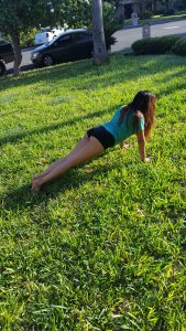 Yoga in the morning Sunlight Can Cure Psoriasis Naturally plank pose