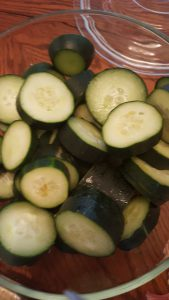 Homade cucumber recipe for psoriasis