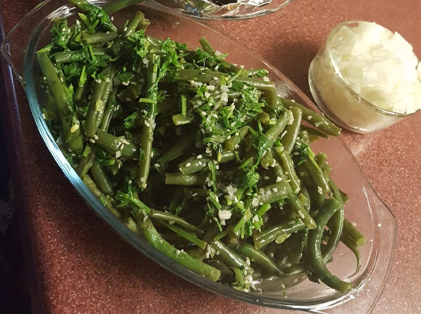 Drakes great homemade greenbean recipe for psoriasis