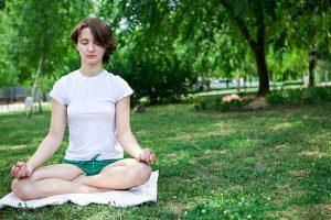 Meditate heal psoriasis