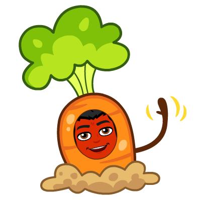 Remedy Psoriasis Naturally bitmoji carrot