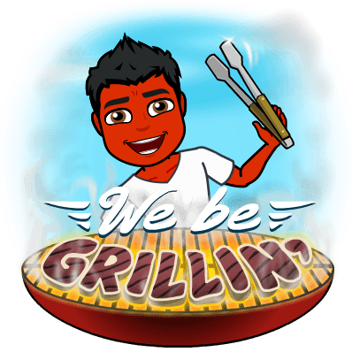 Grilling-won't-treat-psoriasis-bitmoji