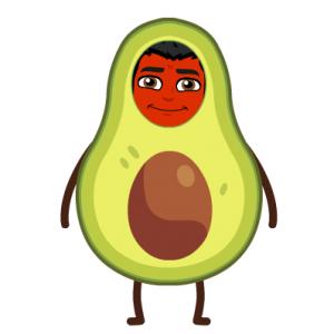 avocado heal psoriasis bitmoji