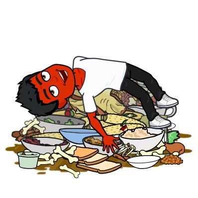 binge eating does not treat psoriasis bitmoji