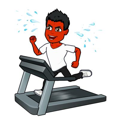 cure psoriasi bitmoji jogging