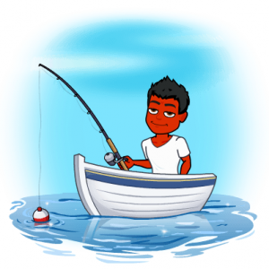 fishing cure psoriasis bitmoji