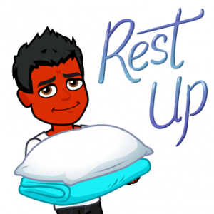 not sleeping does not treat psoriasis bitmoji