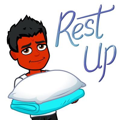 not sleeping does not treat psoriasis bitmoji