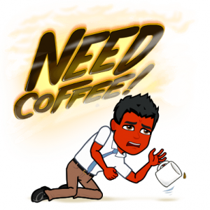 black coffee does not treat psoriasis bitmoji