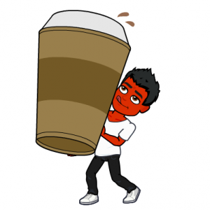 coffee does not treat psoriasis bitmoji