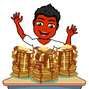 pancakes do not treat psoriasis bitmoji