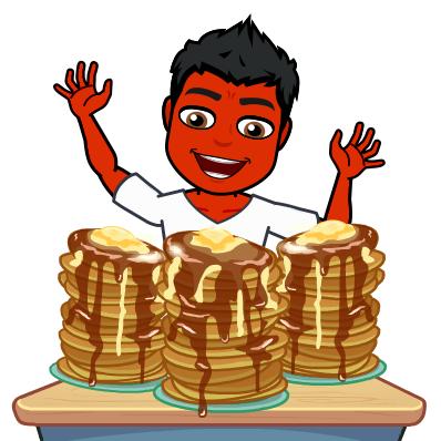pancakes do not treat psoriasis bitmoji