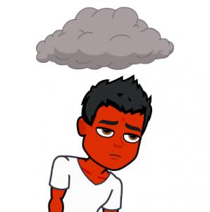 sad because of psoriasis