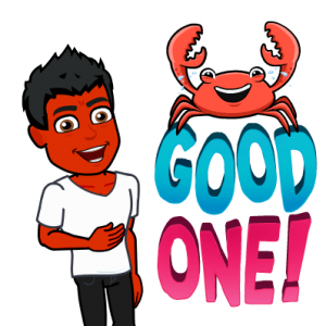 crab does not treat psoriasis bitmoji