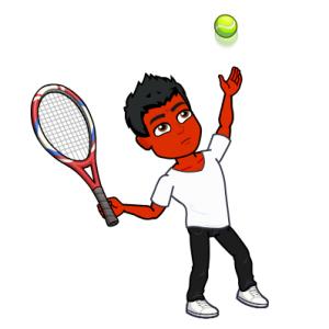 cure psoriasi bitmoji tennis