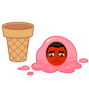 Icecream does not treat psoriasis bitmoji