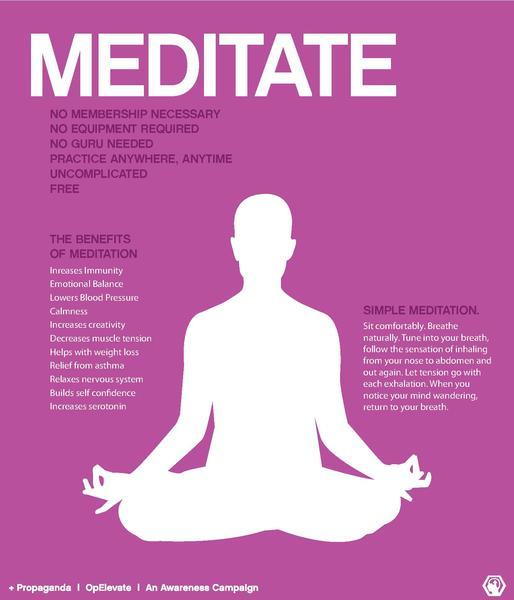 meditate and heal psoriasis
