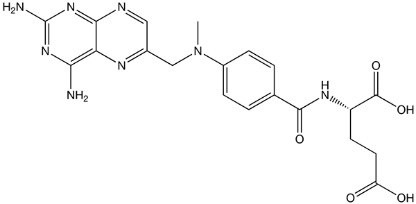 Methotrexate causes liver disease