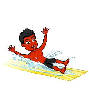 salt water pool is better for psoriasis bitmoji
